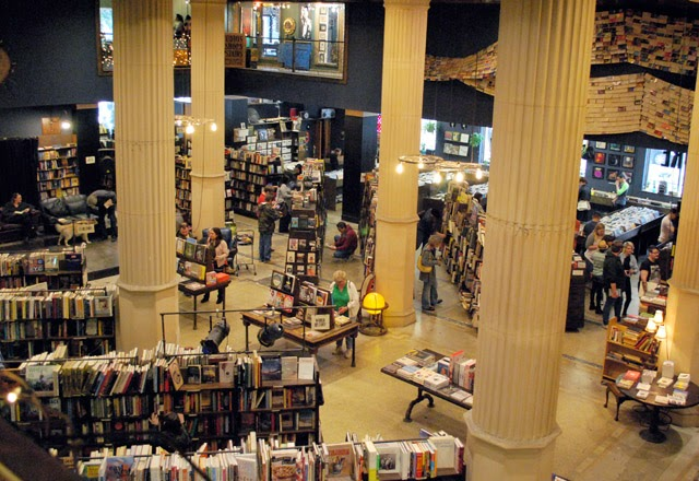 The Last Bookstore and the Spring Arts Collective in Downtown Los Angeles, California | Em Then Now When