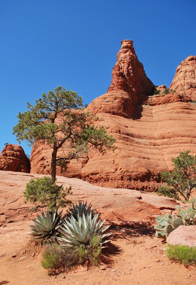 Hiking Broken Arrow Trail to Chicken Point in Sedona, Arizona | Em, Then Now When