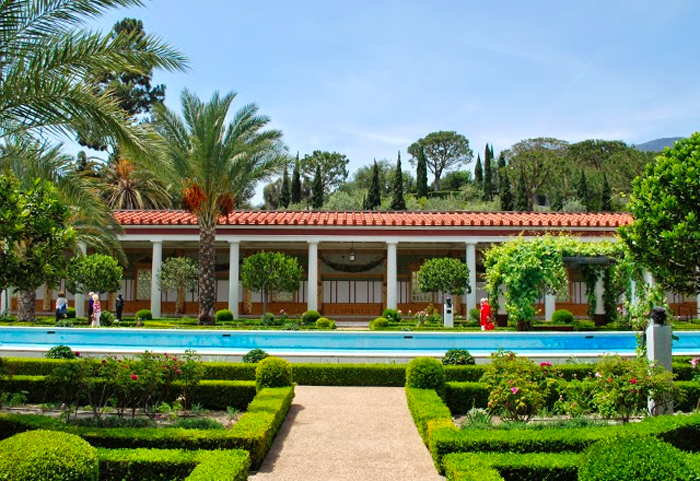 Visiting The Getty Villa in Pacific Palisades