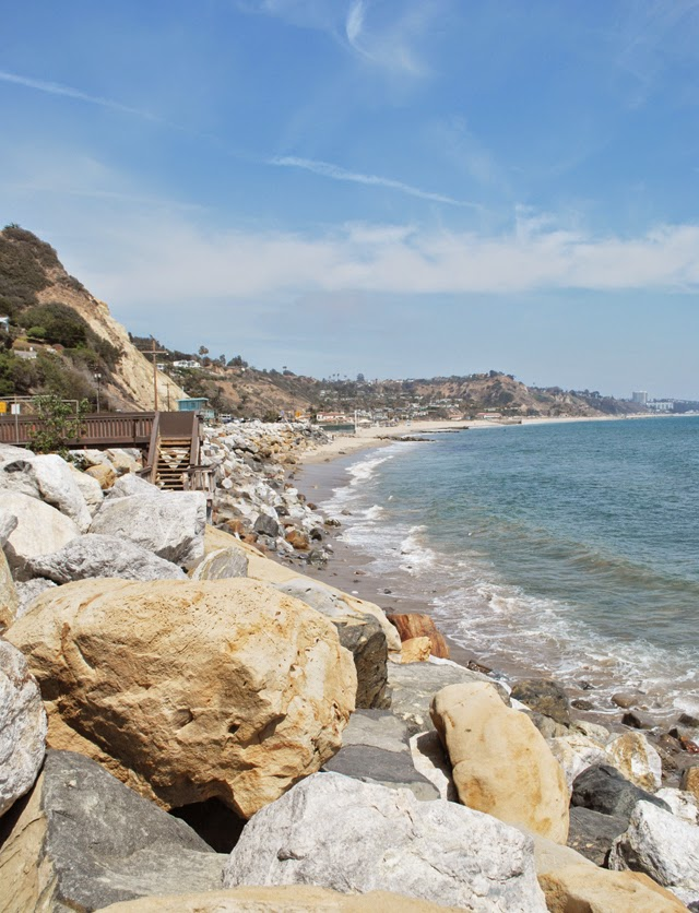Views of the Pacific from Pacific Palisades