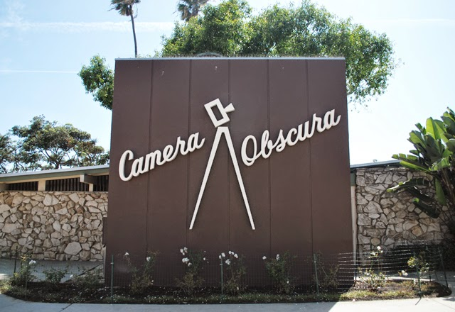 Camera Obscura, free to visit and located on Ocean Avenue in Santa Monica, California!