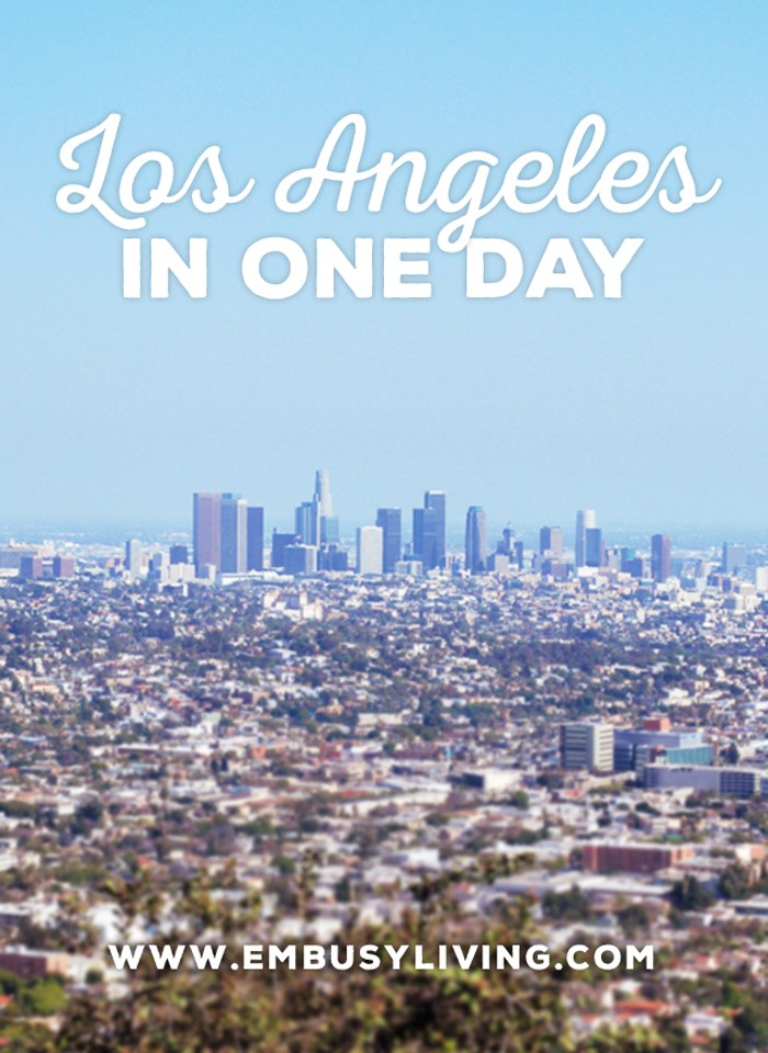Los Angeles in One Day