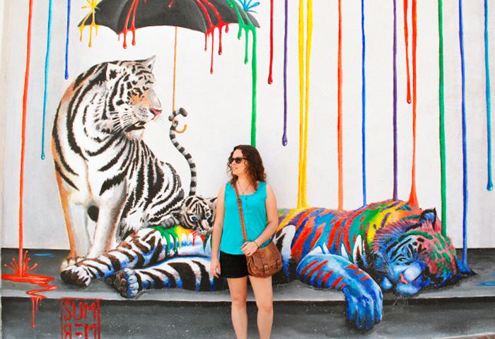 Weekly Roundup | Rainbow Tigers?