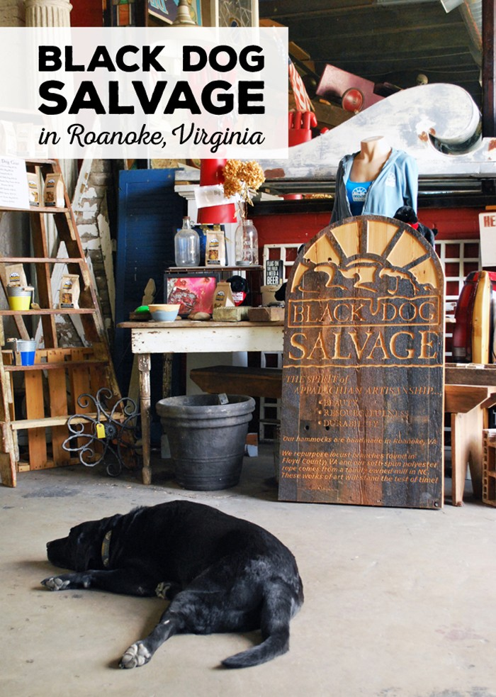 Black Dog Salvage, Home of the Salvage Dawgs