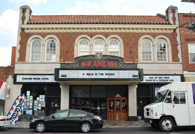 The Grandin Theatre, Grandin Village in Roanoke, Virginia | Em Busy Living