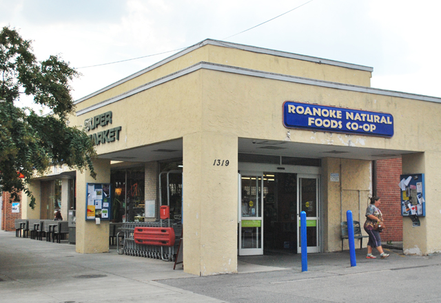 Roanoke Natural Foods Co-Op, Grandin Village in Roanoke, Virginia | Em Busy Living