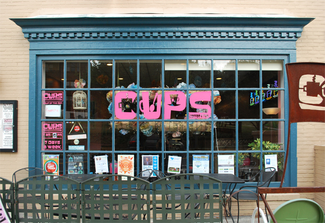 CUPS Coffee & Tea, Grandin Village in Roanoke, Virginia | Em Busy Living