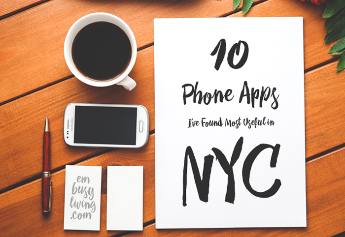 10 Apps I've Found Most Useful in NYC