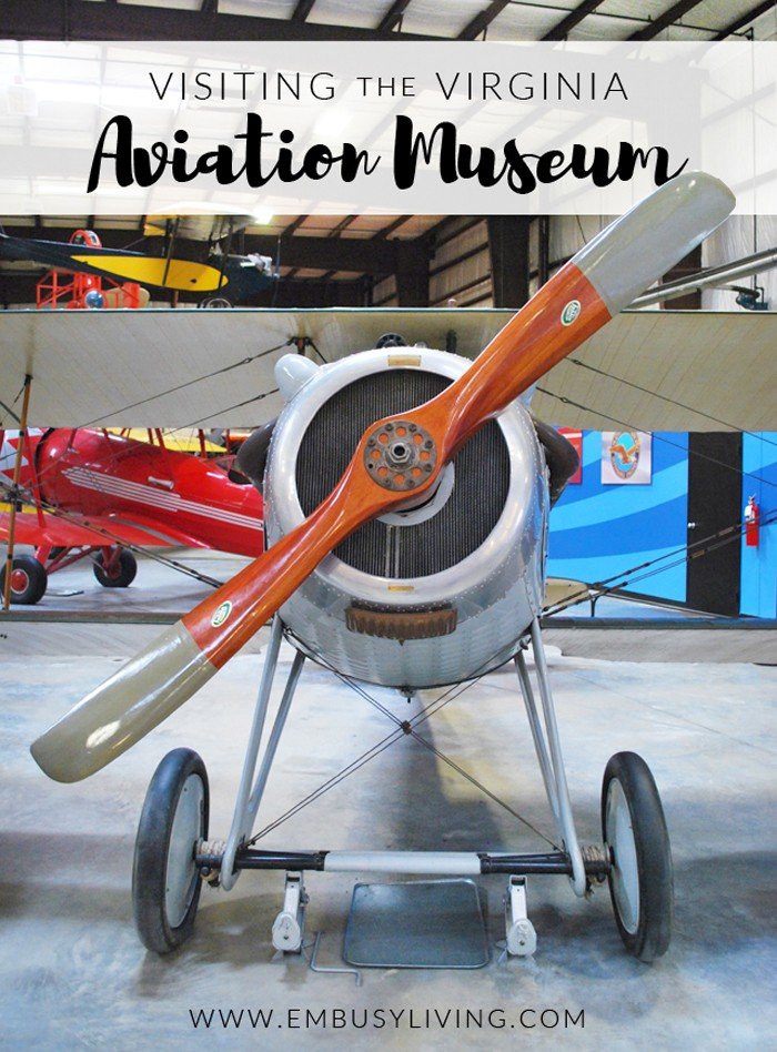 Visiting the Virginia Aviation Museum