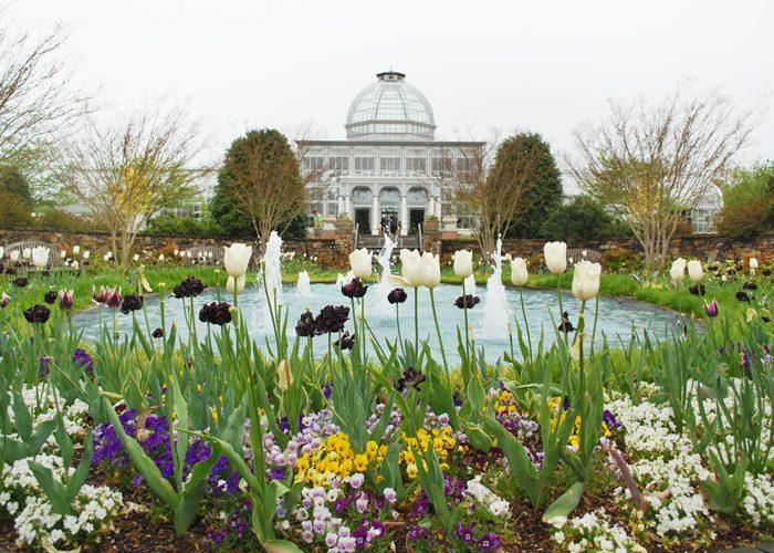 Visiting the Lewis Ginter Botanical Garden in Richmond