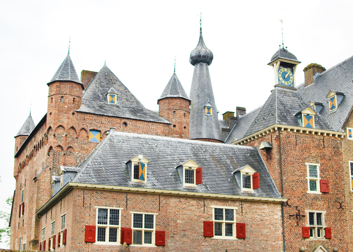 Visiting Kasteel Doorwerth