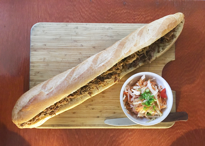 Em Busy Living | Sandwich from The Black Sheep
