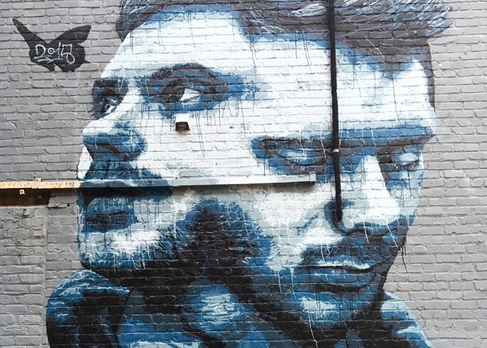 Weekly Roundup | Em Busy Living | Mural in Richmond, VA by Nils Westergard
