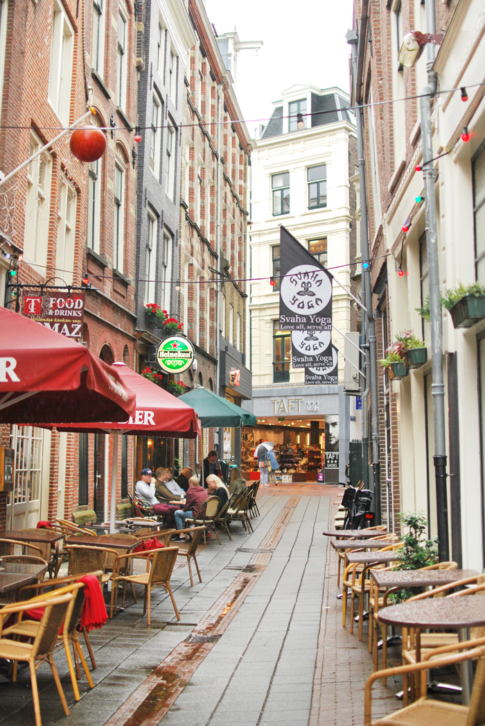 "Begijnensteeg Alley, ""48 Hours in Amsterdam"" 