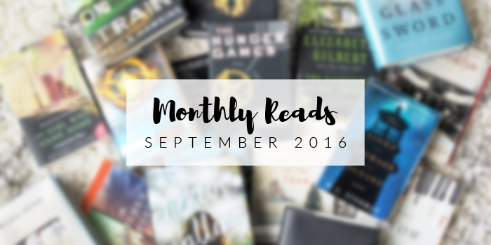 Monthly Reads September | Book Reviews by Em Busy Living