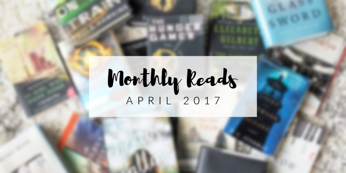 Monthly Reads: April Book Reviews