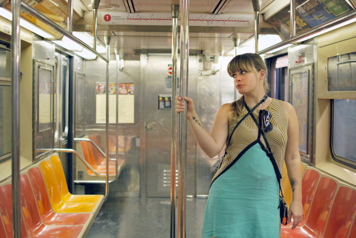On the Subway in New York City | Em Busy Living