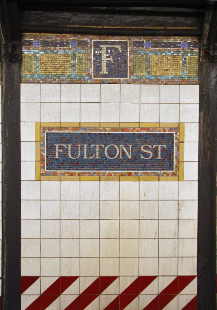 Fulton St Station, NYC Subway