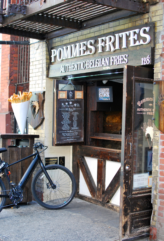 Pommes Frites, Macdougal Street, NYC | Em Busy Living