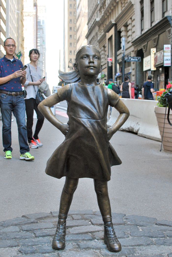 Fearless Girl, NYC | Em Busy Living