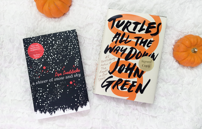 October Reads: Turtles All the Way Down and A Shiver of Snow and Sky | Em Busy Living