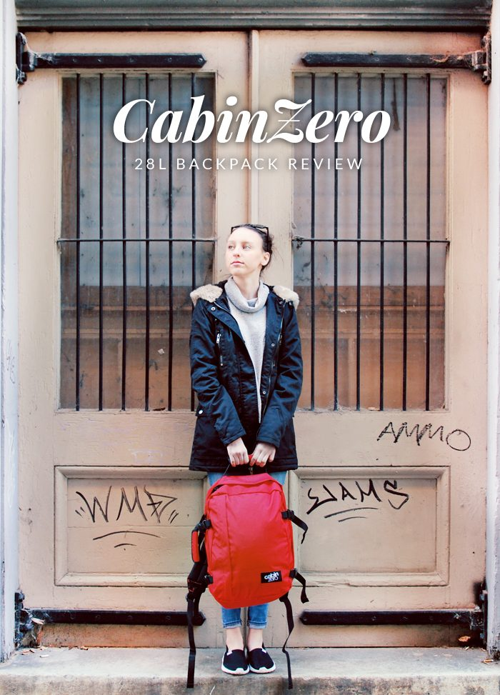 CabinZero 28L Backpack Review