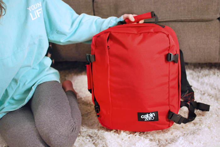 CabinZero 28L Backpack Review   Em Busy Living