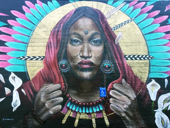 Em Busy Living | Murals of RVA