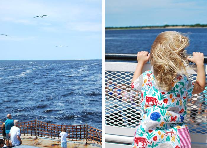 Ferry to Southport, North Carolina | Em Busy Living