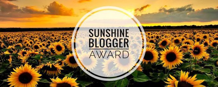 Sunshine Blogger Award – Get to Know Me Better