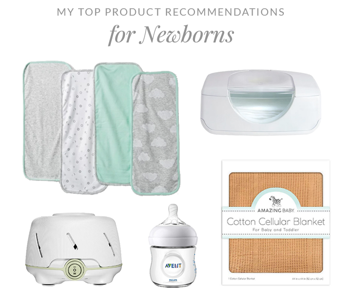 Top Product Recommendations for Newborns | Em Busy Living