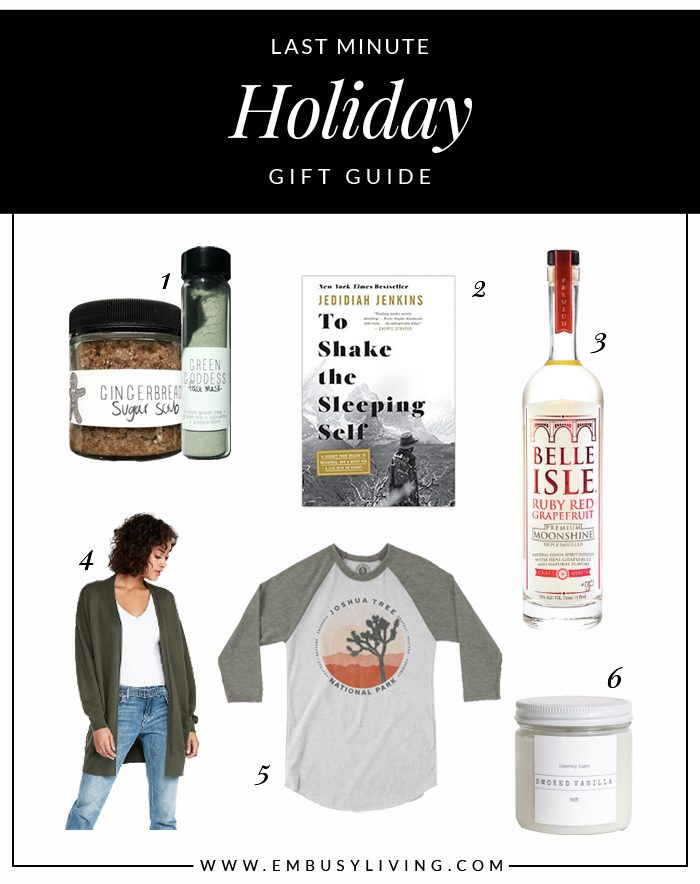 A Last Minute Holiday Gift Guide