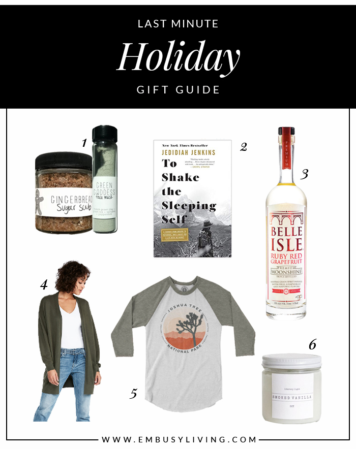 Holiday Gift Guide 2018 | Em Busy Living