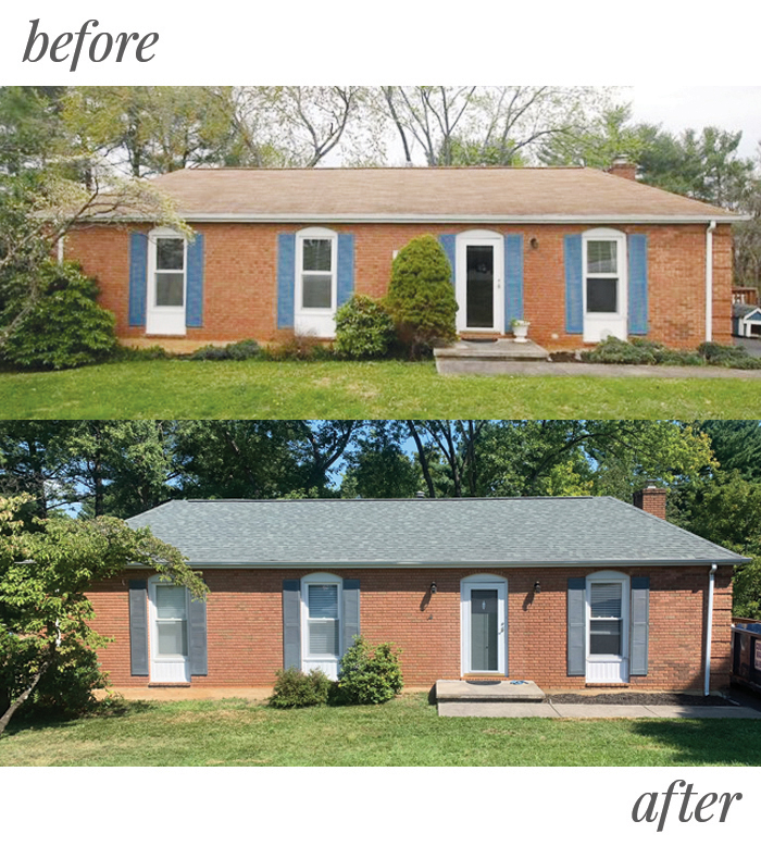 Home Renovation Before & After: Curb Appeal | Em Busy Living