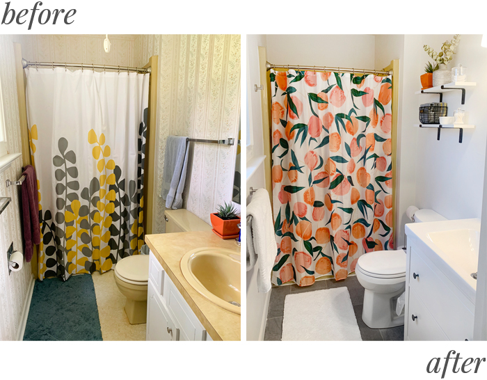 Home Renovation Before & After: Master Bathroom | Em Busy Living